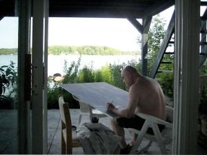 CP outdoor studio Jul 19