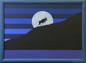 Moose Ascending 32x44 01
