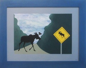 Moose Crossing 2010