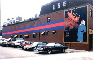 VOICE OF CULTURE mural 1990