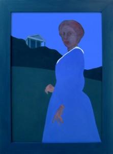 Elizabeth Simcoe at Castle Frank