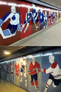 Hockey Murals 1985