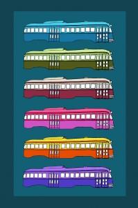 Streetcar Rainbow