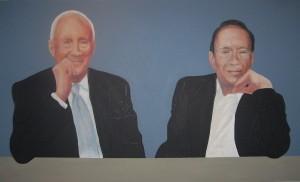 Dan Bereskin &Rick Parr portrait
