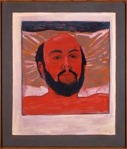 Self portrait, Auvers 79 32x28 in